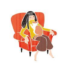 ぬっくり ほっこり ずっしり Learning Stories, People Illustration, Applique, Artwork, Image, Tattoos, Work Of Art, Tatuajes, Auguste Rodin Artwork