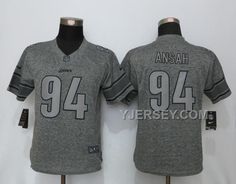 NIKE LIONS 94 EZEKIEL ANSAH GRAY GRIDIRON GRAY WOMEN LIMITED JERSEY ONLINE, Only$38.00 , Free Shipping! http://www.yjersey.com/nike-lions-94-ezekiel-ansah-gray-gridiron-gray-women-limited-jersey-online.html
