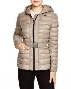 DKNY Lightweight Hooded Puffer Jacket   Bloomingdale's