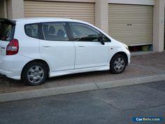 honda jazz 2004 white with roadworthy brilliant condition 178000 km fit #honda #jazz #forsale #australia