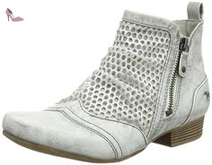 Mustang 1176-504 Bottine femme, schuhgröße_1:eur 40;Farbe:gris - Chaussures mustang (*Partner-Link)