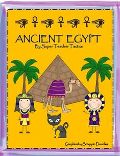 Here is a kid-friendly unit packet on Ancient Egypt. This packet includes:Secret Message Writing Activity in HieroglyphsHieroglyphs resources...