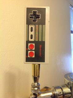 Original Nintendo NES Beer Tap Handle Controller by HandleBeer, $50.00