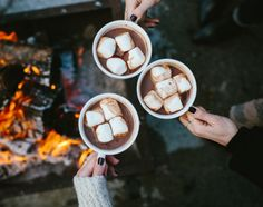 Hot chocolate and good company
