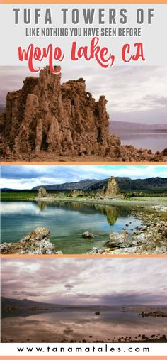 Things to do in Mono County, California (near Yosemite National Park and on Route US-395) - The magnificent Tufa Towers of Mono Lake in Lee Vinning are totally surprising.  I bet you have not seen a landscape like this before.