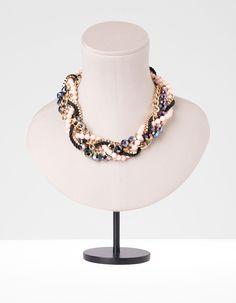 Collar cadenas trenzadas  12,95  €   Ref. 9016/004