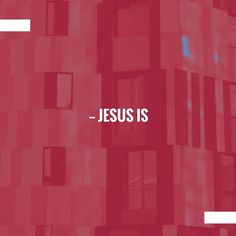 Wave hello to this awesome post!  Jesus Is… http://tailatron.com/2017/02/06/jesus-is/