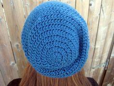 Slouchy Beanie Crochet Pattern | Cool Crochet Patterns: Slouchy Beanie