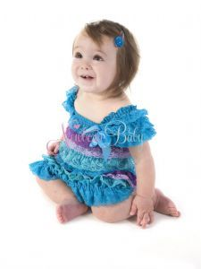 Multi Aqua Layer Dress