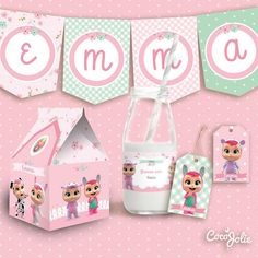 Food Nail Art, Disney Princess Toys, Candy Quotes, Baby Party, Cry Baby, Baby Birthday, Ideas Para, Toy Chest, Cocoa