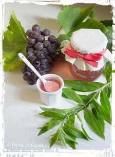 Confit de raisins du jardin à la verveine citronnelle © Popote et Nature