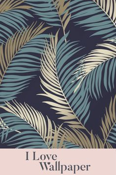 Create a serene living area with our beautiful Vivienne Leaf Wallpaper in navy and gold. This gorgeous paper consists of a solid base colour in navy, enhanced by stunning leaf prints in colour-complementing shades of blue and gold with a lovely metallic finish. Our Vivienne Leaf Wallpaper in navy and gold can be used to paper a whole room or to create an eye-catching feature wall.