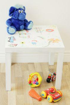 DIY Children's Art Table