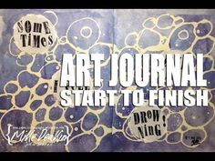 Art Journal Page - Artistic Restraint - Drowning - YouTube