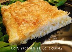 Con tu pan te lo comas: HOJALDRE DE PESCADO Y GAMBAS