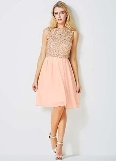 Oli Sequin Skater Dress