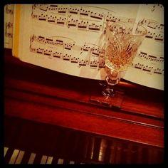 Scotch and Mozart.