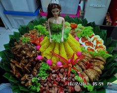 Mommy Cake and Cookies ( GLOW CAKE ART ): resep Food N, Food And Drink, Puding Cake, Doll Food, Indonesian Food, Creative Food, Cake Art, Holidays And Events, Food Hacks