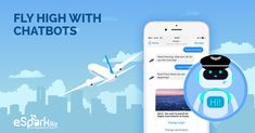 The Growth Of Chatbots In Airline Industry - Travel ChatBot - eSparkBiz Artificial Intelligence Article, Machine Learning Artificial Intelligence, Artificial Intelligence Technology, Customer Service Quotes Funny, Artificial Neural Network, Customer Engagement, Technology World, Funny Quotes, How To Get