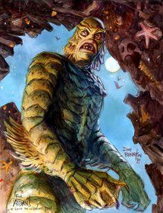 Dan Brereton - The Creature from the Black Lagoon