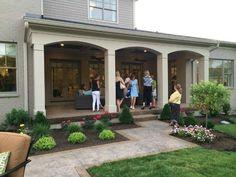 Particular Covered Back Porch Designs On Home Design