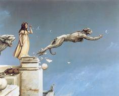 Michael Parkes | Gargoyles