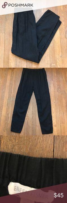 EILEEN FISHER Linen Pants Details tk Eileen Fisher Pants