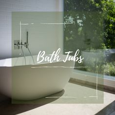 Escape into the world of bath tub inspiration brought to you by Infinity Drain.