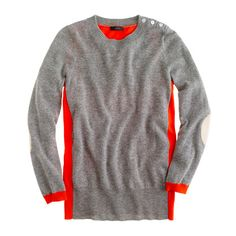 Dream colorblock elbow-patch sweater $98