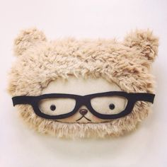 Hipster bear is so ironic.