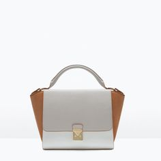 ZARA - SHOES & BAGS - COMBINED CITY BAG WITH BUCKLE