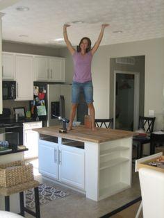 31 best diy kitchen island images diy ideas for home kitchen rh pinterest com