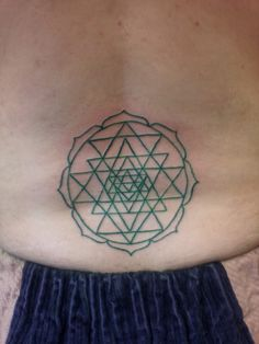 Sri Yantra Tattoo by Violet Page Sri Yantra Tattoo, Kali Yantra, Tattoo Portfolio, Tatting, Body Art, Ink, Tatuajes, Bobbin Lace, India Ink