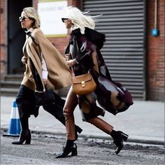 The Great Caper #fur #trimmed #hooded #pattern #cape #fall #fashion #streetstyle #style #nyc #crossbodybag #leather #pants #mode #keepitchic #globalstyle #furstyle #manoswartz #est1889