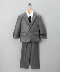 Loving this Storm Five-Piece Suit Set - Toddler & Boys on #zulily! #zulilyfinds