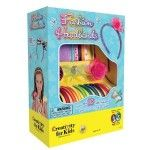A Faber-Castell Creativity For Kids Kit. Decorate 10 satin headbands to wear and share! This kit contains 10 satin covered headbands, 1 sparkling butterfly embellishment