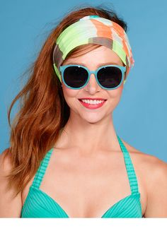 Poolside perfection #Stylish #Shades #Summer #Blue