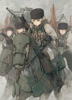 Character Portraits, Character Art, Character Design, Anime Military, Military Girl, Fantasy Comics, Anime Fantasy, Fallout Power Armor, Anime Warrior Girl