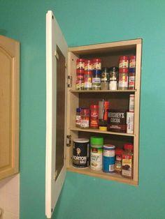 Secret Storage DIY Cabinet   DIYIdeaCenter.com
