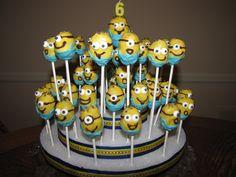Despicable Me cake pops