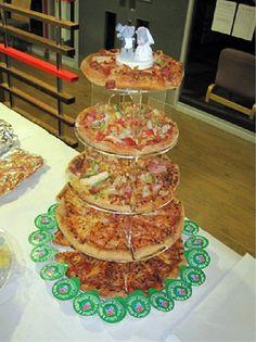 La madre de todas las tartas de boda.