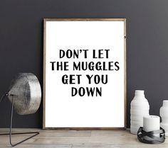 50% OFF Albus Dumbledore Potter Printable Poster Don't let