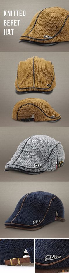 US$10.99+Free shipping. Men's Cap, Men's Fashion, Beret Hat, Golf Hat, Baseball Hat, Cabbie Hat. Color: Gray, Navy, Yellow, Green, Black, Coffee. Material: 70% Cotton + 30% Polyester. Love style!