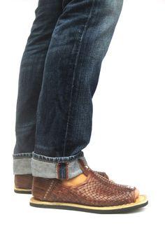 b06a0f75 15 Best Huarache images   Huaraches, Man fashion, Men sandals