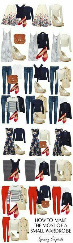 Fashion Mode, Look Fashion, Trendy Fashion, Spring Fashion, Womens Fashion, Fashion 2017, Classic Fashion, Fashion Design, Small Wardrobe