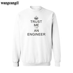 >> Click to Buy << Trust Me I AM AN Engineer Black/Gray Mens Autumn Hoodies Mens Hip Hop Hoodies in High Quality Mens Hoodies and Sweatshirts #Affiliate