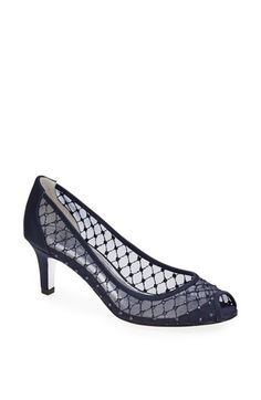 Free shipping and returns on Adrianna Papell 'Jamie' Pump at Nordstrom.com. Bejeweled diamond mesh glamorizes an exquisite pump with a flirty peep toe.