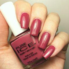 "Pure Ice ""Rumors"". #polishswatch #nailpolishswatch #nails #nailart #polish…"