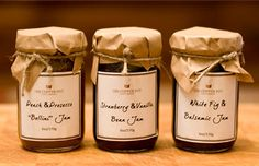 The Copper Pot Food Company - D.C. chef turned stay at home dad created jams and sauces from local farmers. Strawberry Vanilla Bean Jam and Blended Late-Harvest Tomato sound delicious!
