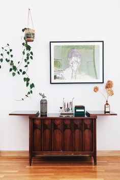 vintage-inspired styling via apartment therapy